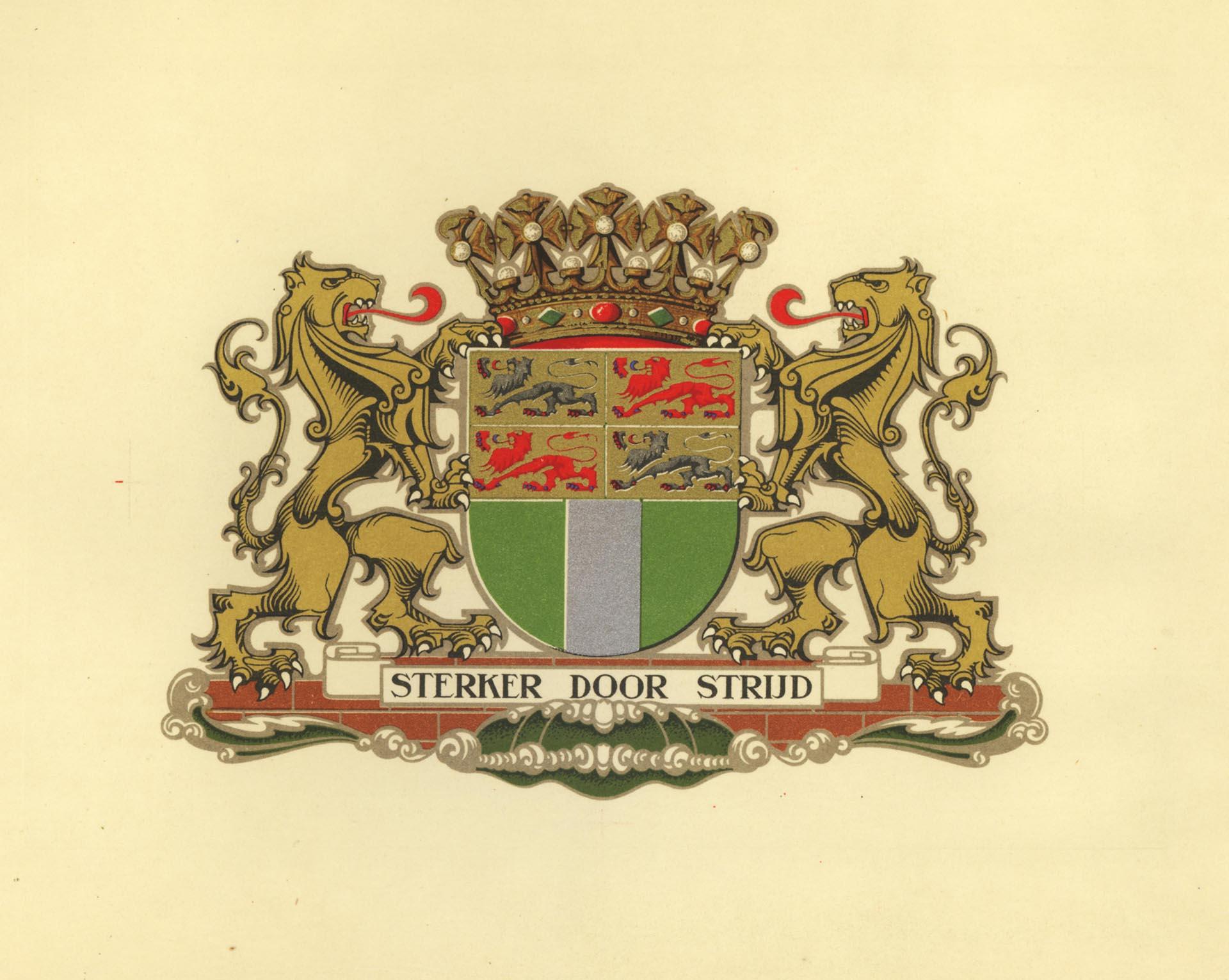 Gemeentewapen Rotterdam 1920px
